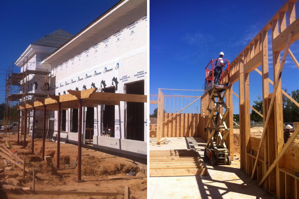 Wood Framing & Build-Out