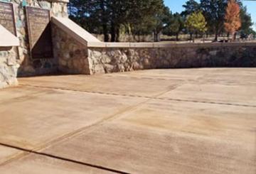 Replace Rostrum Concrete