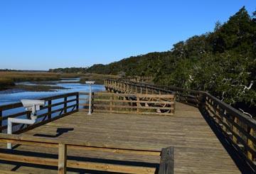 Cumberland Island Boardwalk Repairs