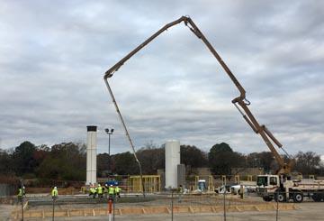 Concrete Pad Installation