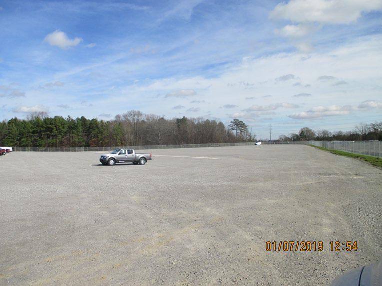 Nissan 27 Acre Gravel Lot