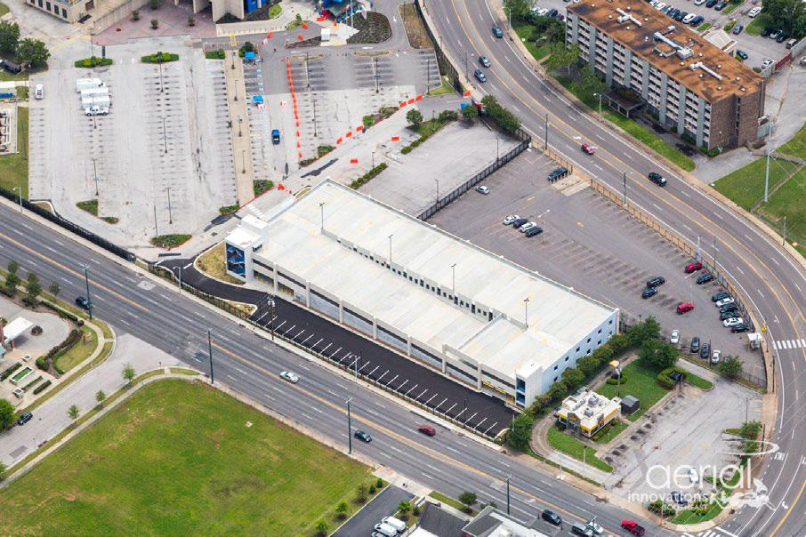 VAMC Construct Parking Garage on West Lot